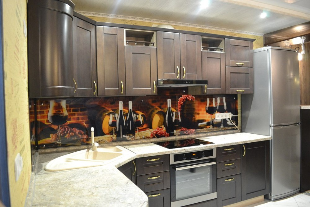 Классические кухни-Кухня из массива «Модель 160»-фото1