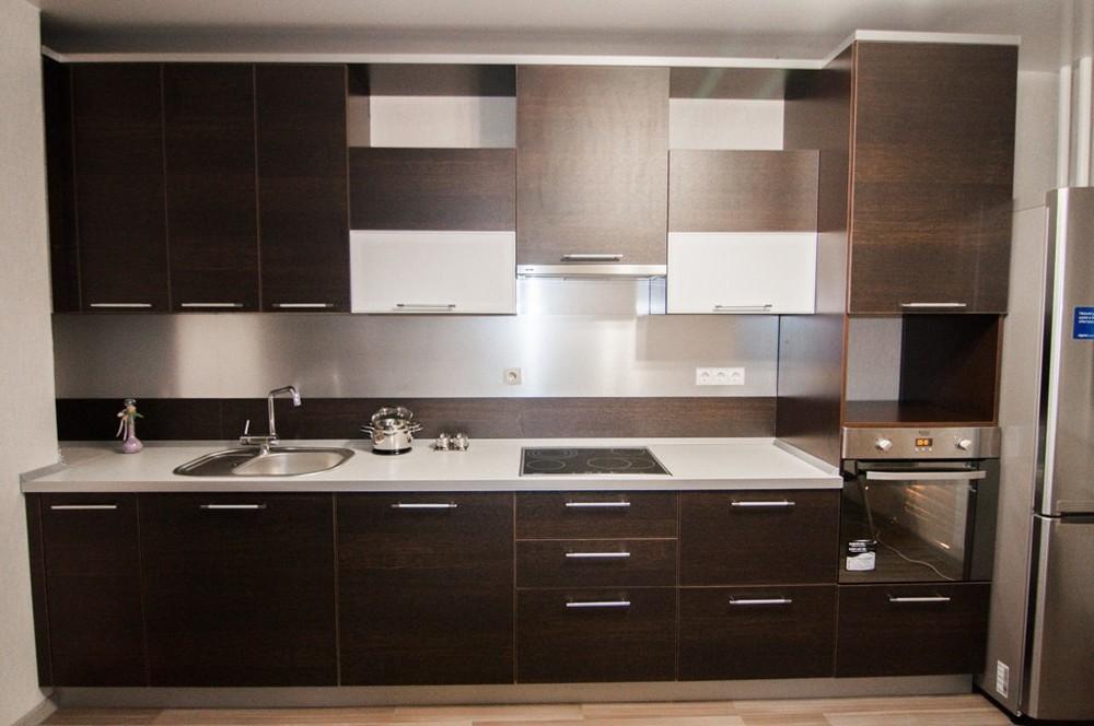 Встроенная кухня-Кухня из ЛДСП «Модель 151»-фото4