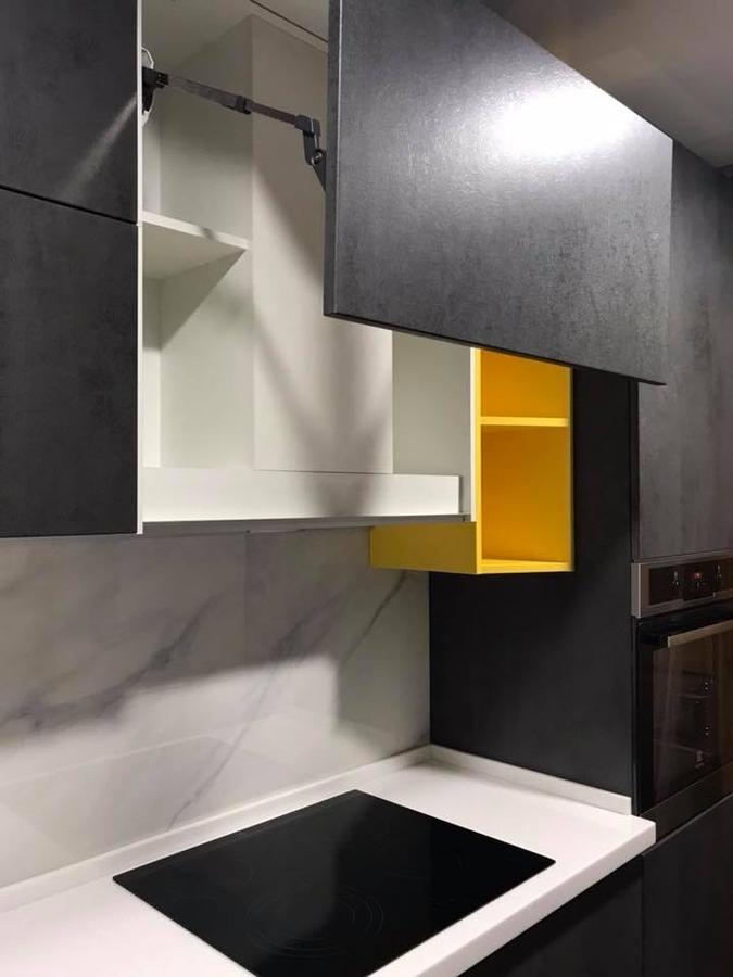 Встроенная кухня-Кухня из пластика «Модель 189»-фото5