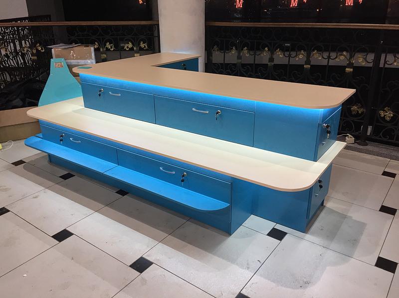 Торговая мебель-Торговый островок «Модель 261»-фото1