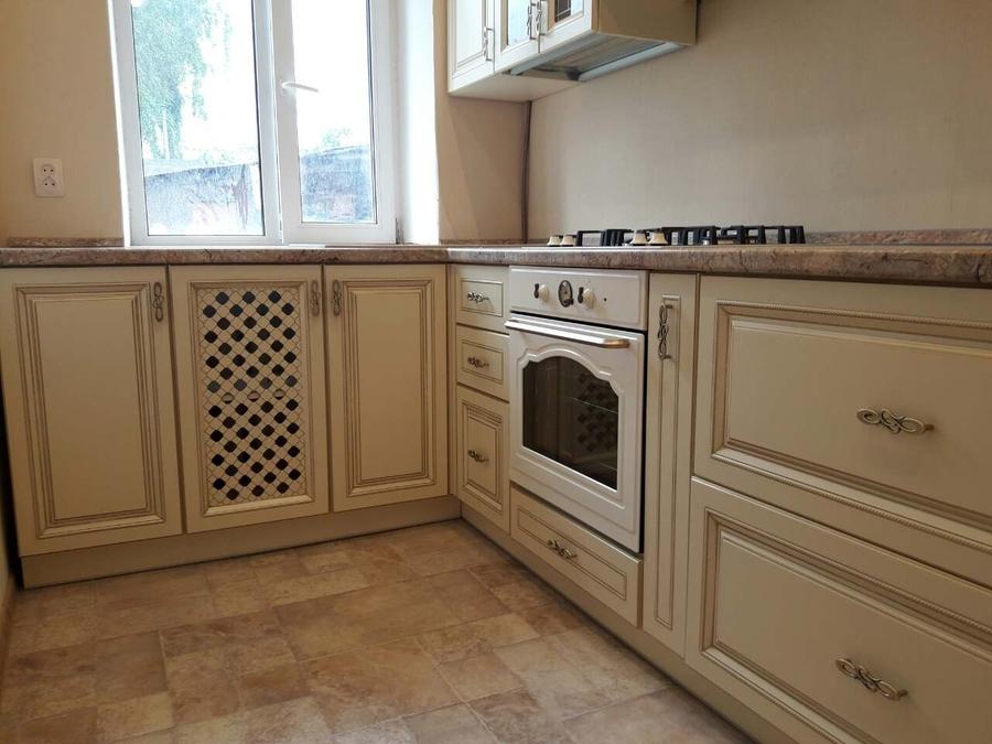 Белый кухонный гарнитур-Кухня «Модель 482»-фото1