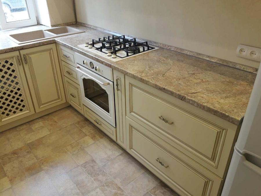 Белый кухонный гарнитур-Кухня «Модель 482»-фото3