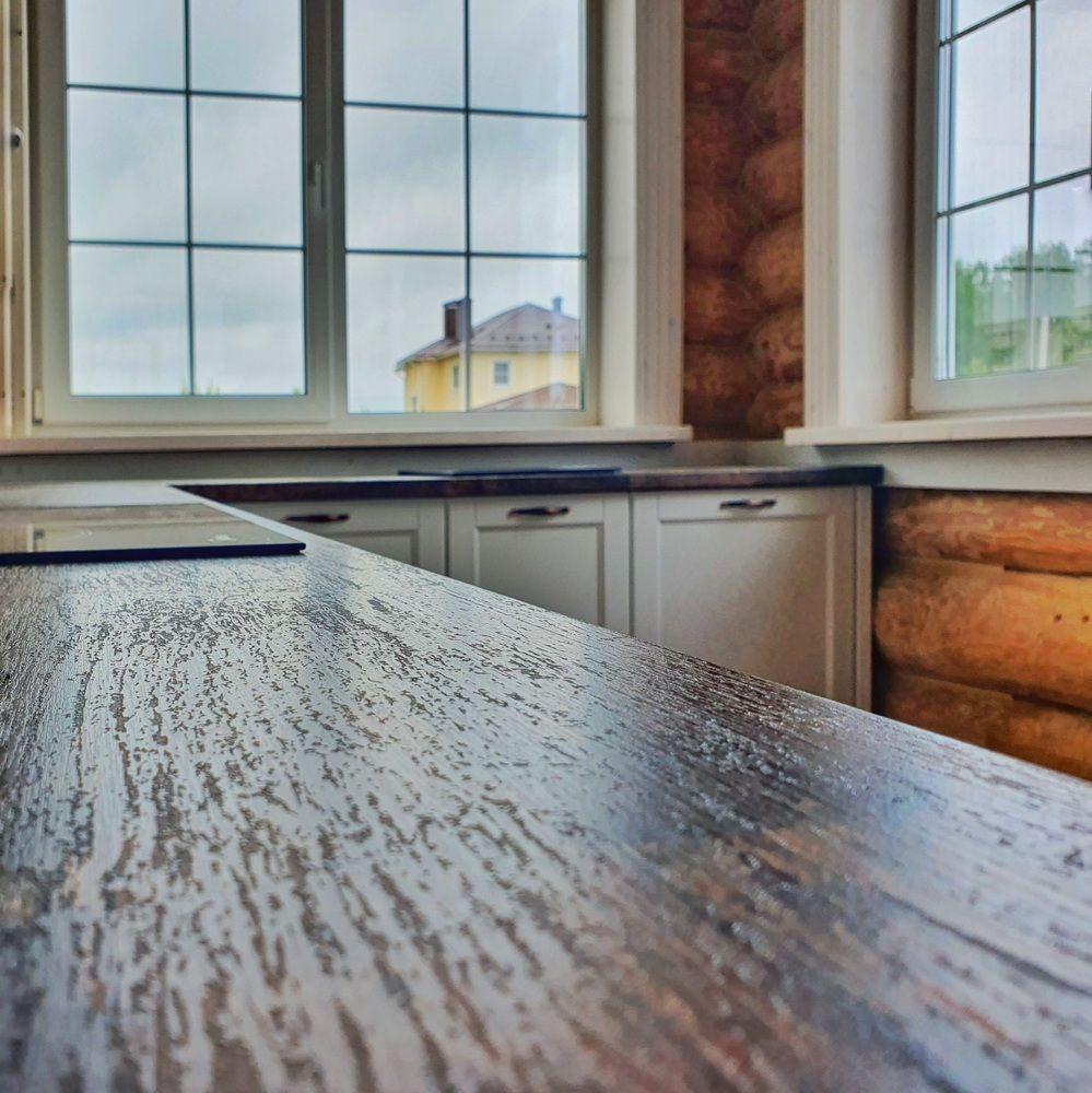 Белый кухонный гарнитур-Кухня МДФ в эмали «Модель 525»-фото7