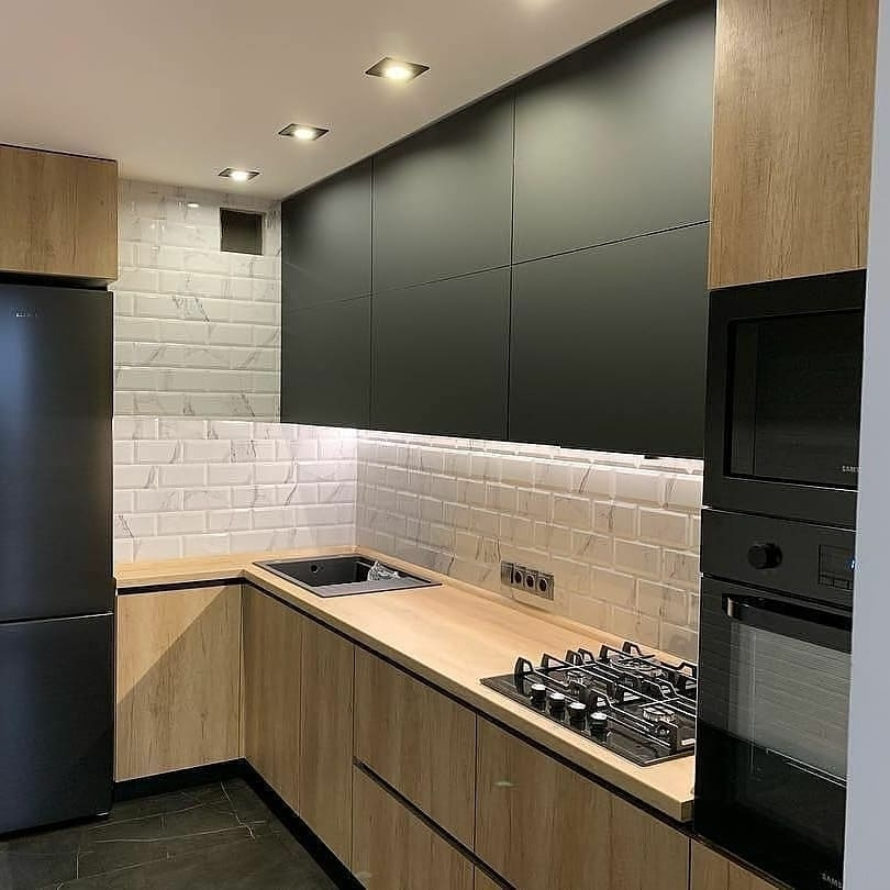 Купить кухню-Кухня из ЛДСП «Модель 630»-фото1