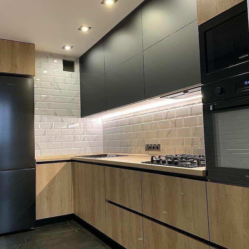 Купить кухню-Кухня из ЛДСП «Модель 630»-фото2