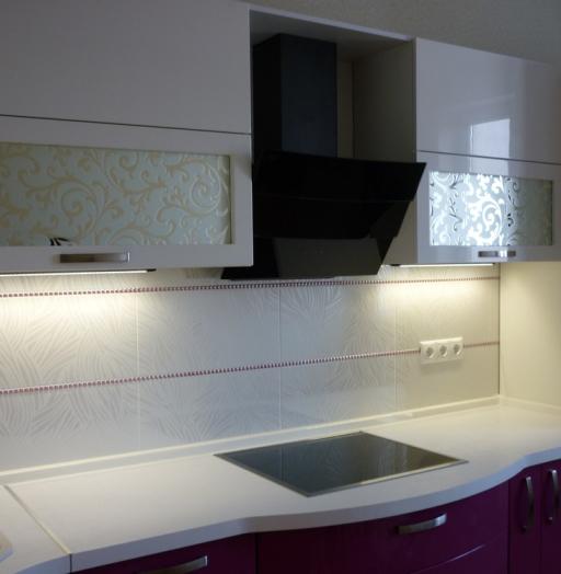 -Кухня МДФ в эмали «Модель 237»-фото2