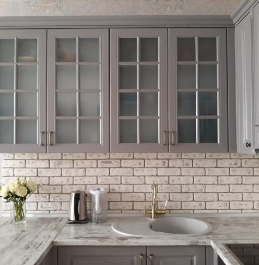 -Кухня МДФ в эмали «Модель 281»-фото21