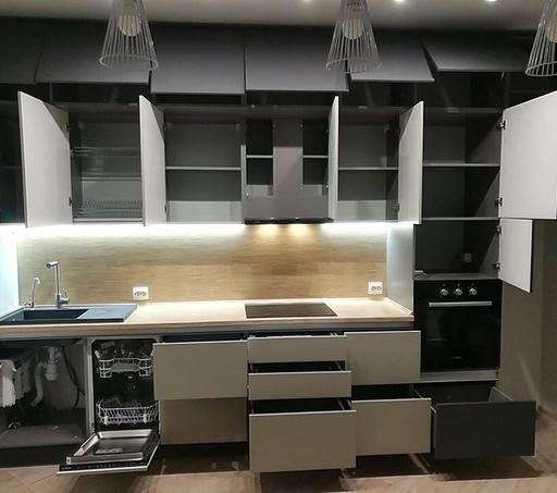 -Кухня МДФ в ПВХ «Модель 99»-фото25