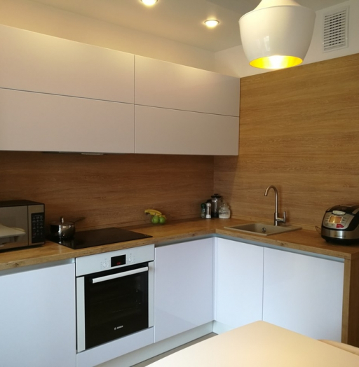 -Кухня из пластика «Модель 438»-фото22