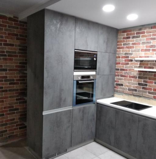 -Кухня МДФ в ПВХ «Модель 442»-фото22