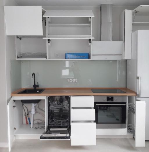 -Кухня МДФ в эмали «Модель 447»-фото20
