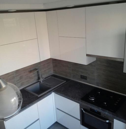 -Кухня из пластика «Модель 361»-фото25