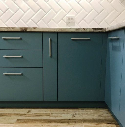 -Кухня из пластика «Модель 373»-фото12