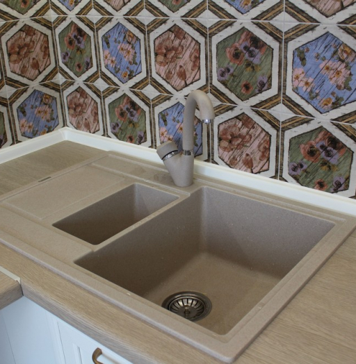 Акриловые кухни-Кухня из пластика «Модель 134»-фото15