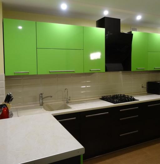 -Кухня из акрила «Модель 288»-фото26