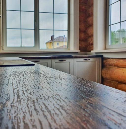 Белый кухонный гарнитур-Кухня МДФ в эмали «Модель 525»-фото10