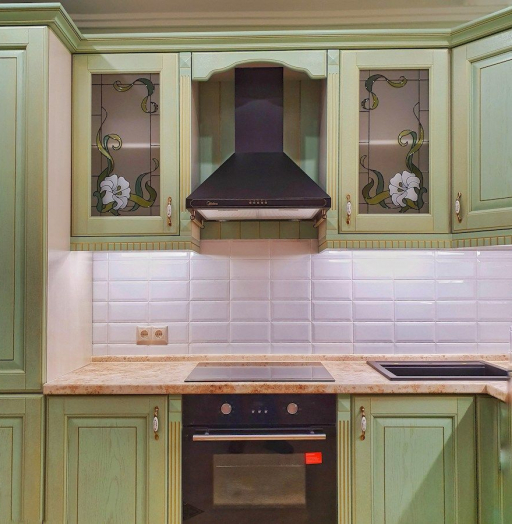 -Кухня из шпона «Модель 559»-фото25