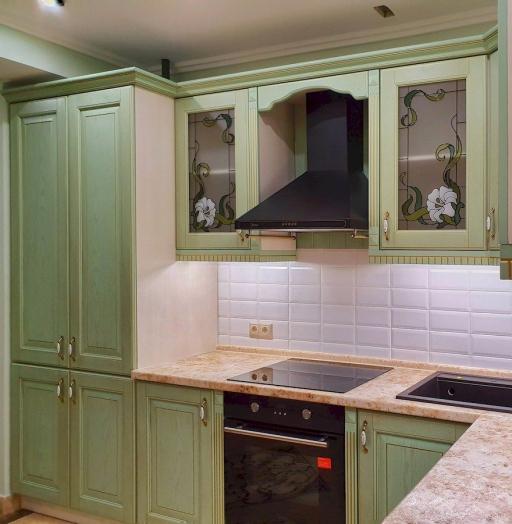 -Кухня из шпона «Модель 559»-фото22